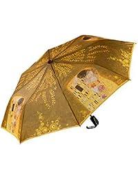 Goebel 67060981 Artis Orbis Gustav Klimt Der Kuss - Paraguas de bolsillo