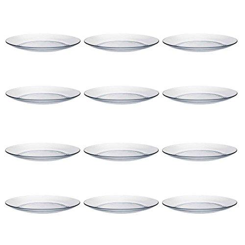 Duralex LYS Abendessen/Essen Teller Serving - 235mm - Packung mit 12 Duralex Lys