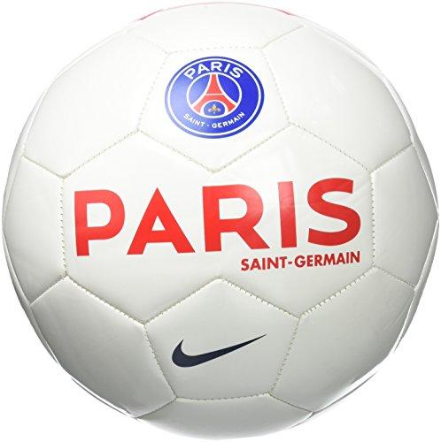 Nike PSG Supporter's - Balón Paris Saint Germain 2015/2016 unisex, color blanco / rojo / azul marino, talla 5