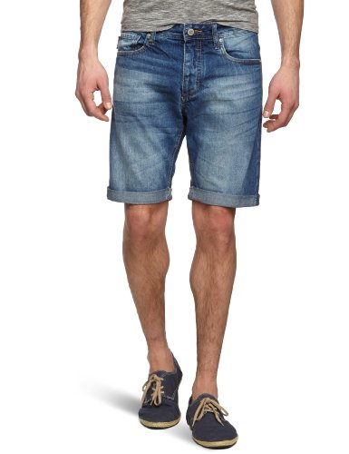 JACK & JONES Herren Jeans Short Normaler Bund 12063896 Rick Original Shorts, Gr. 50 (M), Blau (at 346)