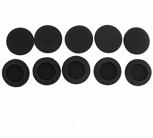 Ersatz-Schaum-Ohrpolster, Ohrpolster-Schwamm, Polster-Abdeckungen für folgende Kopfhörer: Logitech H600 H330 H340 Sony MDR G101LP G42LP DR-220DPV G45 IF240R SRF-HM33 MDR NC5 NC6s 023 10 Paar 60 mm - 4