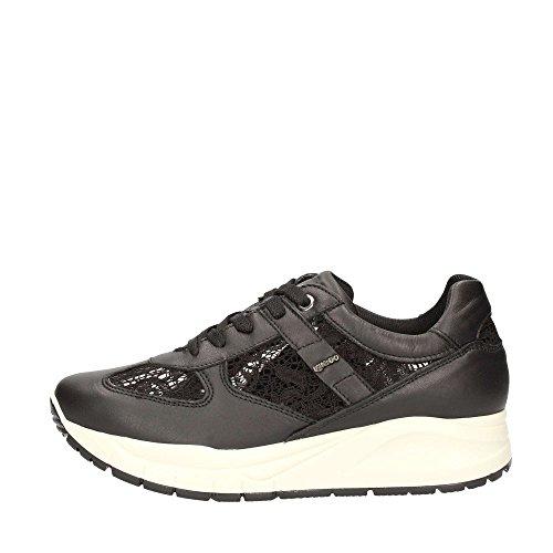 IGI & CO 67463 noir chaussures de sport lacets baskets en dentelle Nero