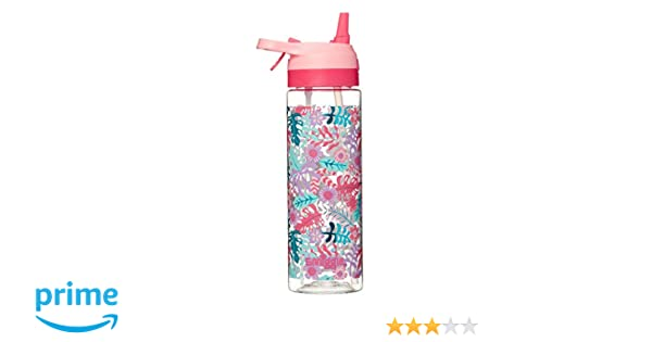 700ml Capacity /& Misting Function Smiggle Viva Spritz Water Drink Bottle for Boys /& Girls with Silicone Spout Football Print