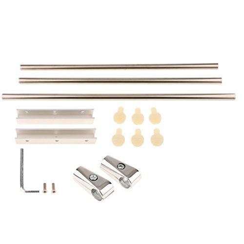 Sharplace Supporto Luce Stand per Acquario Pesci Lampada Serbatoio in Alluminio Gancio di Sostegno - #2