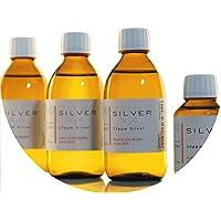 PureSilverH2O 850ml kolloidales Silber (3x 250ml/25ppm) + Flasche (100ml/50ppm) Reinheit & Qualität seit 2012 preisvergleich bei billige-tabletten.eu