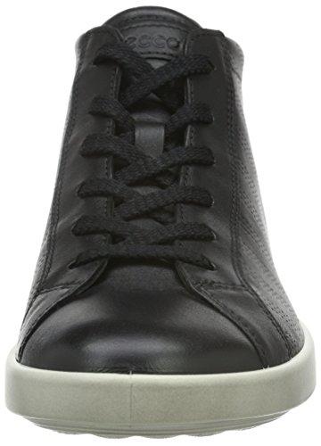 Ecco ECCO AIMEE, Sneakers Hautes femme Noir (BLACK/SILVER PINK59642)