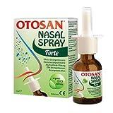 3x Otosan Nasenspray forte bei Schnupfen mit trockenen Schleimhäuten, bei Heuschnupfen, Rhinitis, Sinuitis; reinigende und lindernde Wirkung mit antiviralem Effekt