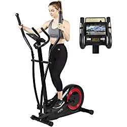 Vélo elliptique réglage motorisé CE-665 par Care   21 programmes - Remise en Forme complète - Fonction ergomètre