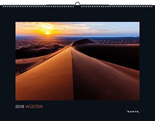 Wüste Natürlichen (Wüsten 2018: Kalender 2018 (KUNTH Wandkalender Black Edition))