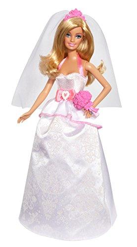 Barbie Mattel BCP33 Puppe, Modern Fairytale Braut