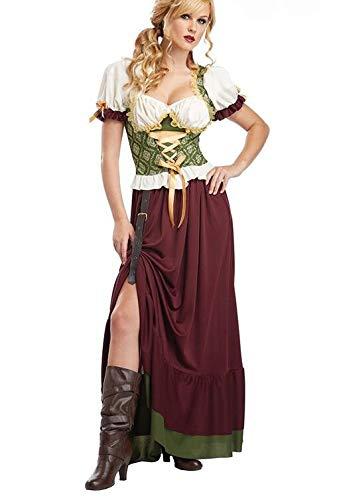 Halloween Kostüm Illusion - WXFC Erwachsenen Halloween Kostüm, Vampir Kostüm, Sexy Hexe Bühnenkostüm,XL