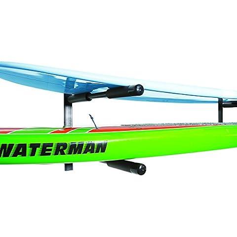 COR | 2 tablas de doble SUP | tabla de surf | Paddle Board pared del estante | Monte Heavy Duty | Acero revestido de polvo | Garantía de por vida
