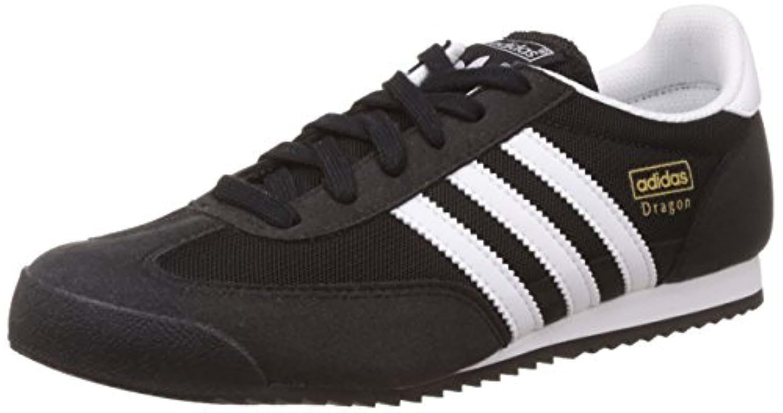 Adidas Unisex Kids Dragon Low-Top Sneakers, Black (Core Black/Ftwr White/Core Black), 3 UK 35 1/2 EU