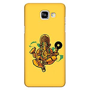 CrazyInk Premium 3D Back Cover for Samsung A5 2016 - Ganesha Different Avatar