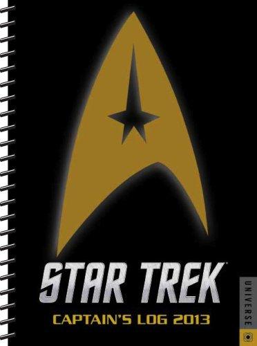 Star Trek Captain's Log 2013 Engagement Calendar (Star Trek Kalender 2013)