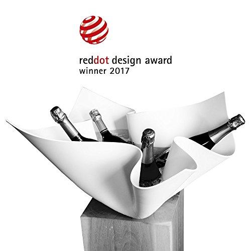 Digkdesign Delfazzo Luxus Champagnerkhler Aus Corian Edel Weinkhler Design Sektkhler