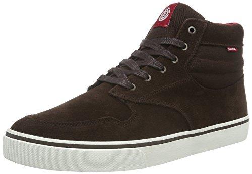 ElementElement TOPAZ C3 MID Herren Sneakers - Scarpe da Ginnastica Basse Uomo , Marrone (Braun (138 Walnut)), 44