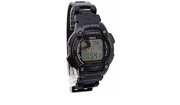 Casio Herren Armbanduhr XL Geotrail Digital Quarz Kautschuk