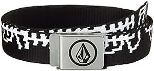 Volcom Herren Gürtle Circle Web Belt, Black Combo, One Size, D5911450BLC