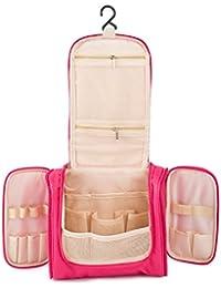 Beauty Case da Viaggio Borsa da Toilette, Bottiglie di Viaggio per Cosmetico Organizzare impermeabile da bagno e trucco