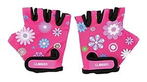 Globber- Guantes Protección Junior Flores, Multicolor (528-110)