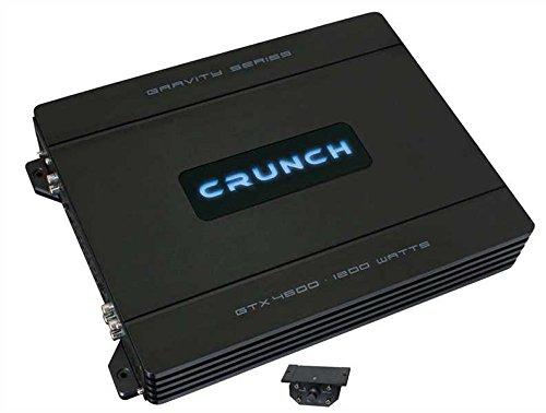 Crunch GTX4600 Kanäle Maxxsonics Auto-subwoofer