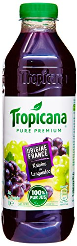 Tropicana Jus de Raisin 1000ml - Lot de 3