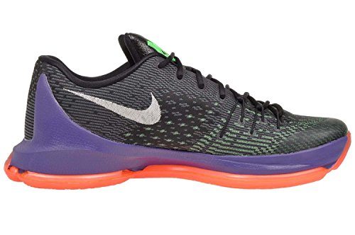 Nike kD 8 chaussures de performance Black/White-Green Shock-Hyper Orange