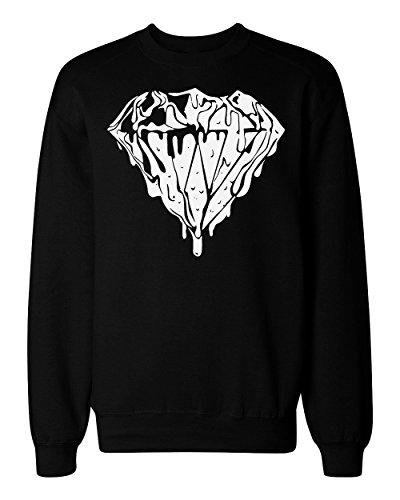 Liquid Diamond Design Men's Women's Unisex Sweatshirt