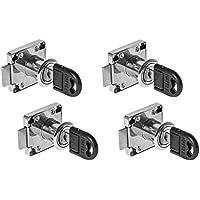 10mm 10 20mm 25mm 16mm Exing 10-25mm Cam Lock Aktenschrank Post Briefkasten Schublade Schrank Locker 2 Schl/üssel-Zink-Legierung