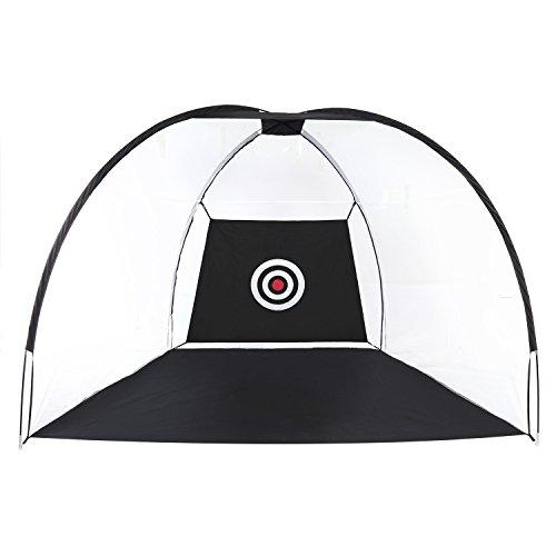 bungsnetz / Golf Driving Netz / faltbar Trainingshilfe mit Ziel - Garten/Indoor, 204*178*200 CM (Pop-up Ziel)