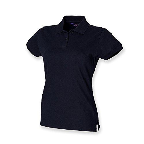 Henbury - Débardeur - Polo - Col polo - Manches courtes - Femme  -  Bleu - Small