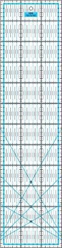 Patchwork Lineal 60x15 cm Blau