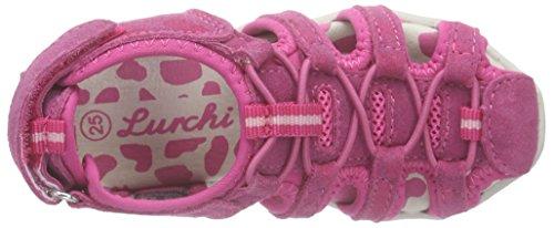 Lurchi Lindsey, Sandales fermées fille Rose - Pink (fuchsia 23)