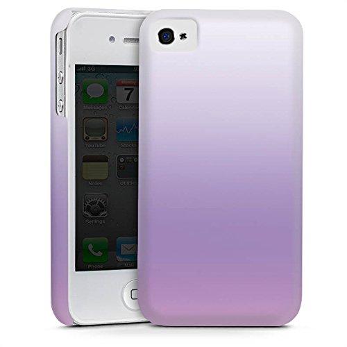 Apple iPhone 5s Housse étui coque protection Lilas Cas Premium mat