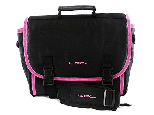 new-tgc-messenger-style-tgc-padded-carry-case-bag-for-the-sony-dvp-fx820-r-8-portable-dvd-player-jet