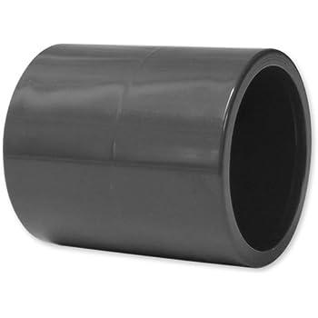 PVC-Muffen, doppelte Klebemuffe, 50 mm