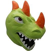 JYJM Cosplay Durr Burger Funny REX Dinosaurier Lustige Tomatehead Maske Kostüm Party Zubehör Schmelz Gesicht Latex Kostüm Halloween Scary Maske Spielzeug (AS anzeigen 03)