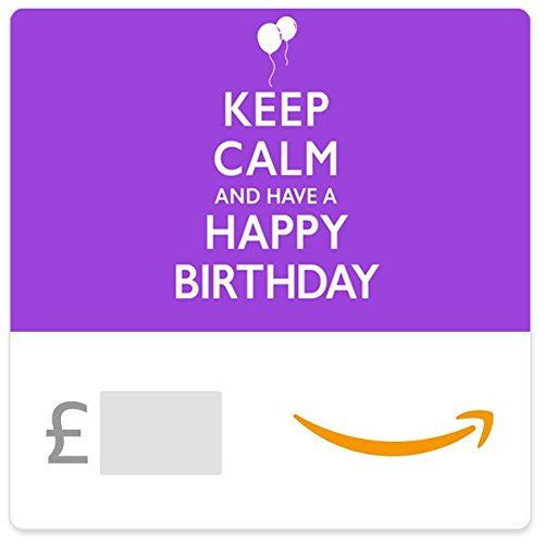 Keep Calm and Happy Birthday -  Amazon.co.uk eGift Voucher