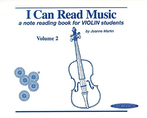 I Can Read Music, Volume 2: A note reading book for VIOLIN students