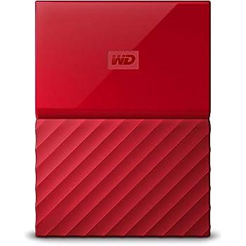 WD My Passport 4TB Portable External Hard Drive (Red)