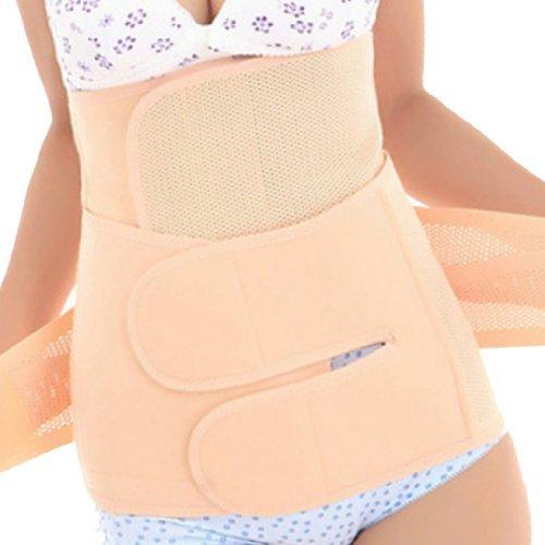 EQMUMBABY elastico Postpartum addominali e fascia elastica in vita cintura Recupero Postnatal corpo dimagrante Shapewear 2Combo-disponibile in 3misure L