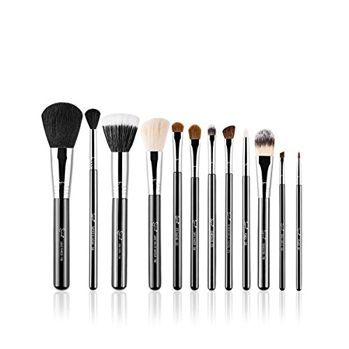 Sigma Beauty - CK001 - Set de 12 Pinceaux de Maquillage - Essential Kit