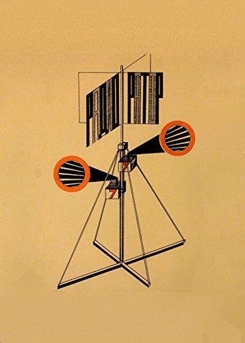 World of Art Kunstdruck/Poster, russischer Konstruktivismus, Vintage-Stil, Motiv Propaganda-Kiosk,...