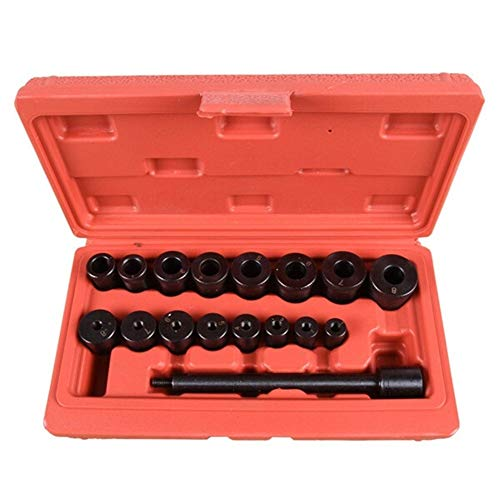 Kupplung Montage-Set, 17pcs Universal-Kupplung ausrichthilfe Kit Schwungrad Vorbohrung Kupplungsantriebsplatte Alignment Tool Aligning Bearinng Transmission (Color : PB33)