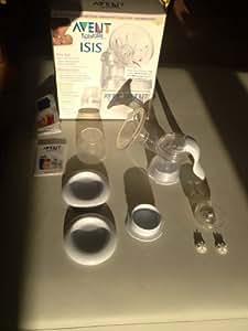 Philips Avent SCF290/20 - ISIS Handmilchpumpe mit 2 Nahrungsbehältern (125ml)