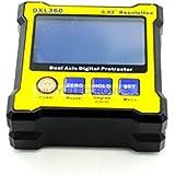 DXL360Dual Axis 0,02° resolución medidor Digital ángulo inclinómetro de transportador de ángulos