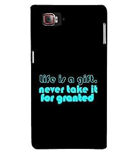 Fuson Designer Back Case Cover for Lenovo Vibe Z2 Pro :: Lenovo K920 :: Lenovo Vibe Z2 Pro K920 (life gift granted never take it)