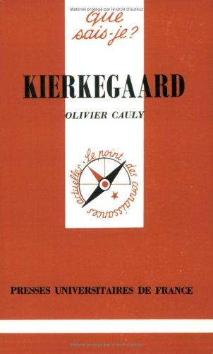 Kierkegaard par Olivier Cauly