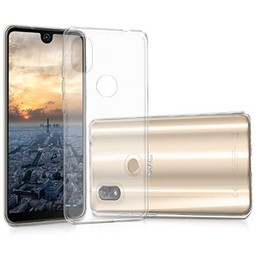 kwmobile Wiko View 2 Hülle - Handyhülle für Wiko View 2 - Handy Case in Transparent